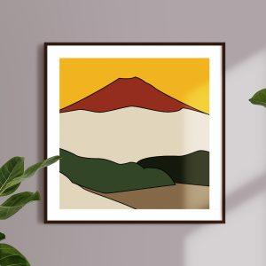 Montagne volcanique