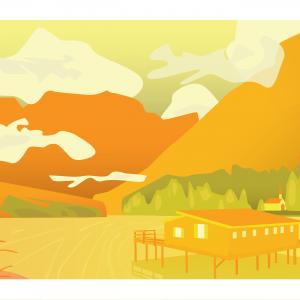 Cabane du lac